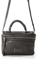 Marc by Marc Jacobs Gray Leather Crossbody Handbag