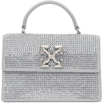 Off-White Off White Grey Crystal 1.4 Jitney Bag