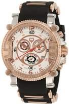 Brillier Men's 02.4.3.4.11.09 Grand Master Tourer White Dial Black Rubber Watch