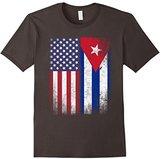 American Cuban Flag T-shirt Cuba Pride Heritage Tee