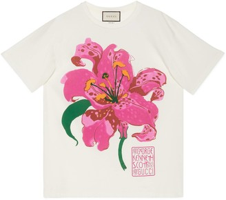 Gucci Ken Scott print cotton T-shirt