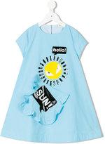 Fendi printed dress - kids - Cotton - 4 yrs