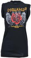 DSQUARED2 Thunder Rose Tour Print Tank Top