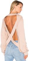 Off-White Crossed Laces Crewneck Sweatshirt