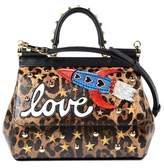 Dolce & Gabbana Dolce E Gabbana Women's Multicolor Leather Handbag.