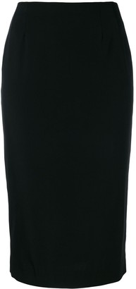Dolce & Gabbana Pre-Owned Fitted Midi Skirt