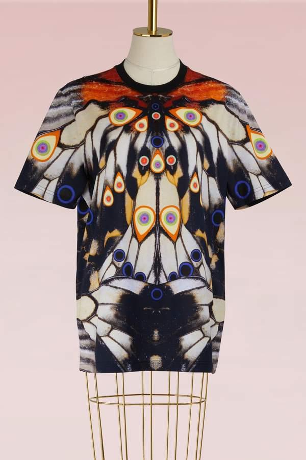 Givenchy Satin Oversized T-Shirt