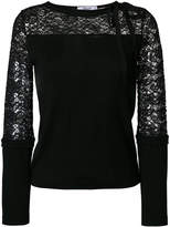 Blugirl lace panel top
