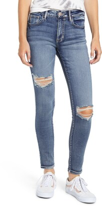 Prosperity Denim Ripped Skinny Jeans