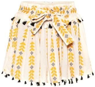Dodo Bar Or Embroidered cotton skirt