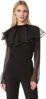 Nina Ricci Blouse with Removable Collar