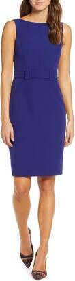 Vince Camuto Laguna Crepe Bodycon Dress