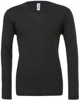 Starlite_BellaCanvas Mens Triblend Tee-Long Sleeve V-Neck T-Shirts-S
