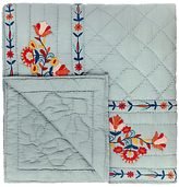 John Lewis Folklore Embroidered Quilted Bedspread