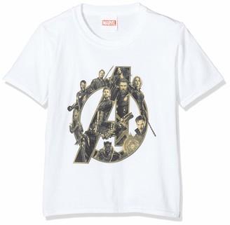 Marvel Boy's Infinity War Avengers Logo T-Shirt