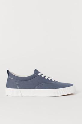 H&M Cotton Fabric Shoes - Blue