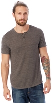 Alternative Shirt Tail Eco-Jersey Henley Shirt