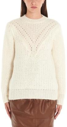 Alberta Ferretti Cable Knit Sweater