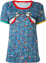 Tsumori Chisato love birds T-shirt - women - Cotton/Rayon - 2