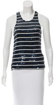Gryphon Sequined Sleeveless Top
