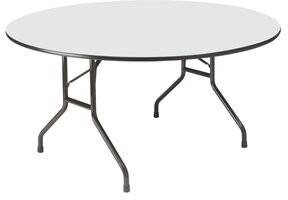 "Iceberg Enterprises 60"" Circular Folding Table Finish: Gray"