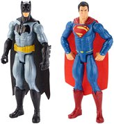 Batman v Superman: Dawn of Justice and Superman Figure, 2-Pack