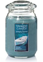 Yankee Candle simply home Tuscan Waters Large Candle Jar