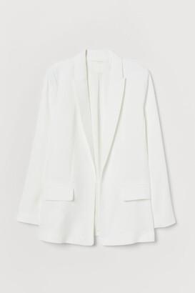 H&M Long Jacket - White