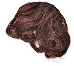 Noxus Bros New Women Bangs Piece Clip On Front Inclined Fringe Hair Wavy Curly Extension