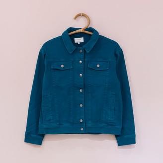 Nümph Green Hunter Cowgirl Shirt - 36 - Green/Blue