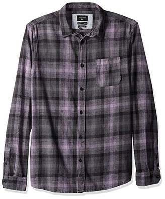 Quiksilver Men's FATHERFLY Shirt Long LSEEVE