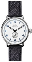Shinola Women's Canfield Cannonball Leather Strap Watch Gift Set, 44Mm (Limited Edition)