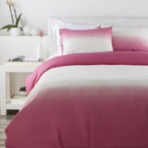 The Well Appointed House Dip Dyed Bedding Set in Salmon and Ivory-Available in a Variety of Sizes