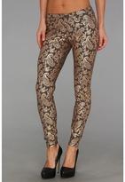 Hue Pearlized Brocade Jeans Legging