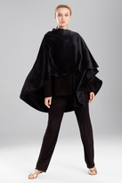 Natori Solid Cashmere Fleece Poncho
