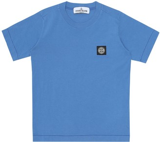 Stone Island Kids Cotton T-shirt
