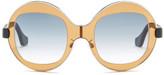 Balenciaga Women&s Round Sunglasses