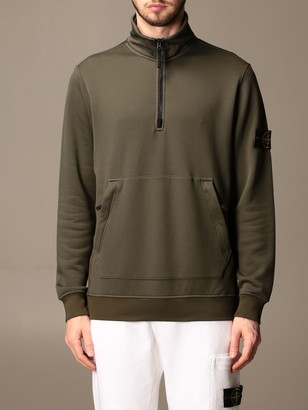 Stone Island Sweatshirt With Logo