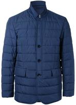 Kent & Curwen padded button front jacket