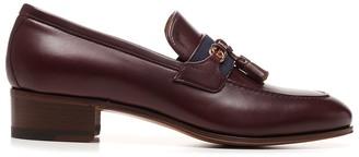 Gucci Web Interlocking G Loafers