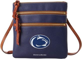 Dooney & Bourke NCAA Penn State Triple Zip Crossbody