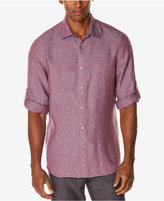Perry Ellis Men's Big & Tall Jacquard Shirt