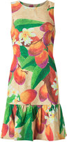 Isolda - mango and floral sleeveless dress - women - Cotton/Linen/Flax/Viscose - 36