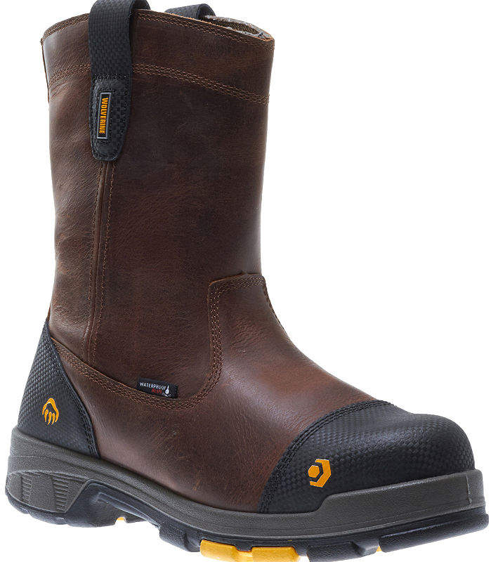 1d71102801d Mens Blade Lx Waterproof Slip Resistant Composite Toe Pull-on Work Boots