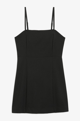 Monki Spaghetti strap mini dress