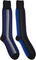 Sacai Muticolor Striped Socks