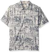 Quiksilver Men's Angler Comfort Fit Button Down Casual Shirt