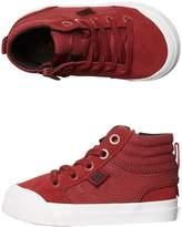 DC Tots Boys Evan Hi Shoe Red