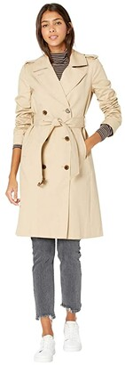 J.Crew 2011 Icon Trench (Vintage Khaki) Women's Coat