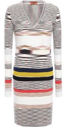 Missoni Intarsia Cashmere Mini Dress